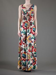 d5cd69d8f07 Tory Burch Size XS  Fantasia  Maxi Dress  169.50