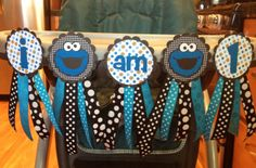 Sesame+Street+Cookie+Monster+I+am+1+by+TheWonderlandCottage,+$20.00