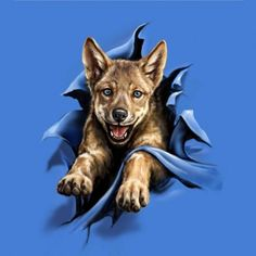#puppy #kids #clothing #t-shirts #tees #shirts #wolf #fun #cute #sweet