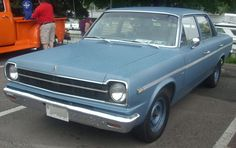 1969 Rambler American sedan