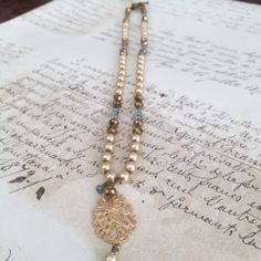 Pearls and Crystals 43.00