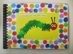 Risultati immagini per la chenille qui fait des trous Summer Crafts For Kids, Summer Kids, Chenille Affamée, The Very Hungry Caterpillar Activities, Montessori Science, Kindergarten, Eric Carle, Book Week, Class Projects