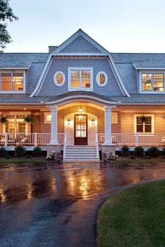 Classical Nantucket Dream Home - beach-style - Exterior - Minneapolis - Hendel Homes