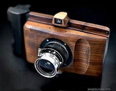 Wood Camera- to blend in with the nature around me