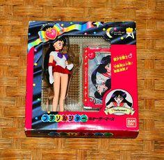 Sailor Mars Petit Soldier Figure figurine Sailor Moon Bandai 1995 vintage #Bandai