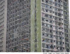Edificio Sao Vito-Sao Paolo, Brazil. 27 floors. Abandoned