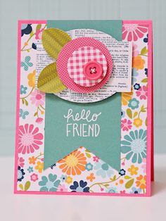Lynn Ghahary :: Pieces of Me ...: Scrapbook & Cards Today - NEW video to share!