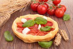 Tartaletas dulces de tomate con corazones de palmito