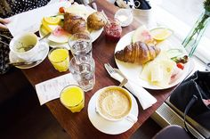 Style code: French chic. #french #breakfast #brunch #yummy #morning