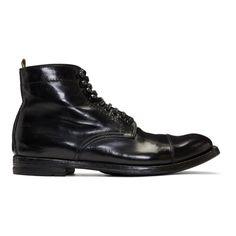 Officine Creative - Black Anatomia 16 Boots