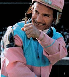 Bill Shoemaker had 4 Kentucky Derby wins and holds the record for oldest jockey to win a Derby at age 54. His career at Del Mar amounted to 94 stakes race wins.