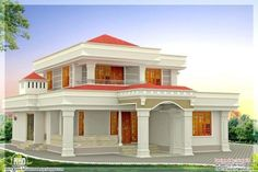 Low Budget House Design In Indian Home And Style Duplex