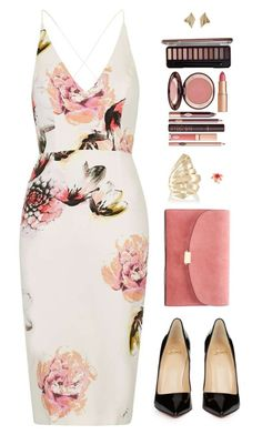 """Sin título #3967"" by mdmsb on Polyvore featuring moda, Topshop, Christian Louboutin, Mansur Gavriel, Givenchy, Kate Spade y Charlotte Tilbury"
