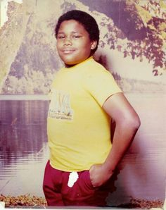 Anthony Anderson as achild Black Celebrity Kids, Celebrity Babies, Celebrity Pictures, Celebrities Then And Now, Young Celebrities, Celebs, Anthony Anderson, African American Culture, Black Actors