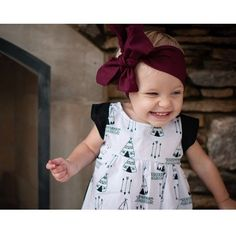 Girls dress, baby girl, toddler fashion, teepee, baby clothes