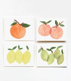 Assorted Citrus Set : Kitchen Prints!