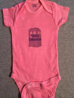 Pink Doctor Who Onesie: Future Companion