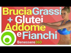 Allenamento Senza Salti per Bruciare Grassi + Esercizi per Glutei, Addome e Fianchi - YouTube