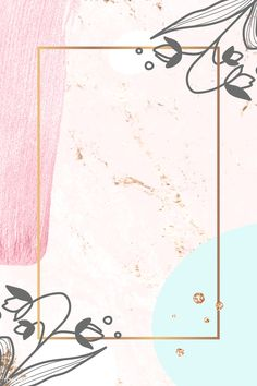 Flower Backgrounds, Wallpaper Backgrounds, Instagram Frame Template, Powerpoint Background Design, Framed Wallpaper, Instagram Background, Cute Patterns Wallpaper, Flower Frame, Art Prints