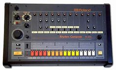 Recognize the sounds of the 808? …but its looks also rock!