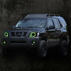 Nissan Xterra Halo Headlights by LED Ideas are on sale now at NFC P… - Autos Online 2015 Nissan Xterra, Nissan Xtrail, Nissan Navara, Nissan Patrol, Truck Mods, 4x4 Trucks, Truck Camper, Nissan Hardbody 4x4, Motorhome