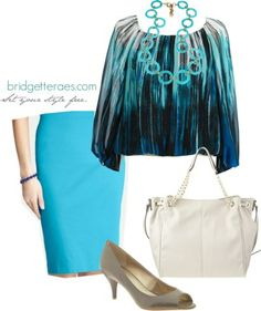 One Item, Five Fashionable Ways- Look 2
