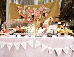 Vintage Pony Party by Oh, Sugar Events