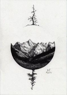 Resultado de imagen para minimalist geometric tattoos