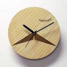 Engraved Wall Clock - Wall Clock - Home Decor - Home Art - Laser Engraving - Fu Manchu - Wall Clock checkout @ http://engrave.in/products/clocks/engraved-wall-clocks