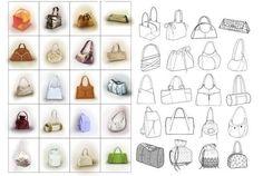 cartamodelli borse a mano ile ilgili görsel sonucu Mantel Camel, Beaded Purses, Mode Outfits, Mode Inspiration, Diy Bags, Hobby, Tutorials, Fashion, Bag Making