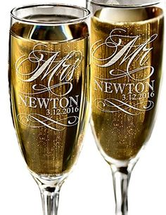 Mr and Mrs Champagne Wedding Glasses, Set of 2 Personalized Toasting Flutes, Engraved Mr and Mrs Wedding Toast Glass Flutes, Bride and Groom Gift Custom-Engraved-Glasses-by-StockingFactory http://www.amazon.com/dp/B01AO5UGKO/ref=cm_sw_r_pi_dp_vGH4wb1KED0X9