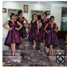 African Bridesmaids Dresses - Getting asked to be a bridesmaid is a fantastic honor but a dress, that will probably only b Printed Bridesmaid Dresses, African Bridesmaid Dresses, Bridesmaid Outfit, Wedding Bridesmaid Dresses, Wedding Attire, Wedding Gowns, Black Bridesmaids, Black Bridal Parties, Bridal Party Dresses