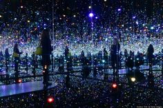 Yayoi Kusama's 'I Who Have Arrived In Heaven' - David Zwirner Gallery Chelsea NYC