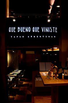 QUE BUENO QUE VINISTE. TAPAS ARGENTINAS.  CARRER DE LA CIUTAT Nº10, BARCELONA.  93 318 46 76 Tapas, Broadway Shows, Barcelona, Sweet Home, Argentina, Restaurants, News, Pictures, House Beautiful