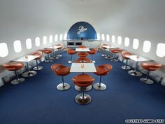 Boeing 747 hostel with room to breathe