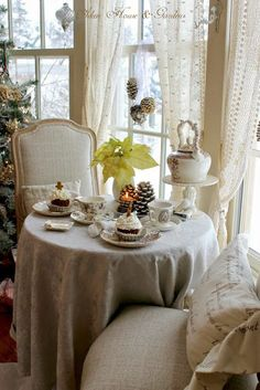 A Winter Tea by Carolyn Aiken