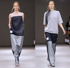 BACK by Ann-Sofie Back 2014 Spring Summer Womens Runway Collection - Mercedes-Benz Fashion Week Stockholm Sweden Vår Sommar: Designer Denim Jeans Fashion: Season Collections, Runways, Lookbooks and Linesheets