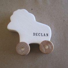 Customized wheeled animal...duck, rhino, pig, elephant, or lion l palomasnest.com
