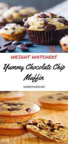 Weight Watchers Pumpkin, Weight Watchers Tips, Weight Watchers Desserts, Skinny Recipes, Ww Recipes, Dessert Recipes, Muffin Recipes, Gallette Recipe, Desert Recipes