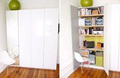 einbau arbeitsplatz f r pax schrank von ikea haus schlafzimmer pinterest pax schrank. Black Bedroom Furniture Sets. Home Design Ideas