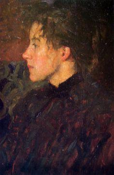 Emanuel Phillips Fox - Portrait of Ina Gregory