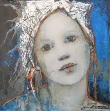 joan dumouchel - Google Search Portrait Art, Portraits, Foto Transfer, Atelier D Art, Religious Art, Acrylic Art, Figure Painting, Face Art, Beautiful Paintings