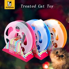 7.76$  Watch now - Pet products Mice Training Amusement Disk Multifunctional Disk Play Activity Funny hamsters Pet Cat Toy interactive training toy   #magazineonlinebeautiful