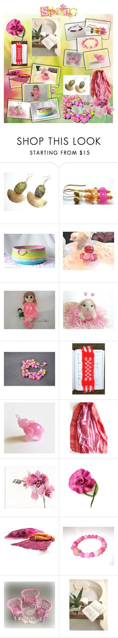 Spring Delights by anna-recycle on Polyvore featuring Bambola, modern, rustic and vintage