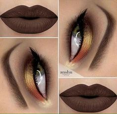 In order to transform your eyes and increase your natural beauty, finding the best eye make-up recommendations will help. You'll want to be sure you put on make-up that makes you look even more beautiful than you are already. Makeup Goals, Makeup Inspo, Makeup Inspiration, Makeup Tips, Blue Eye Makeup, Eyeshadow Makeup, Lip Makeup, Eyeshadows, Orange Eyeshadow
