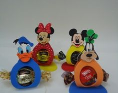 Porta Bombom Mickey e Amigos