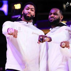 Lebron James Rings, Lebron James Championship, Championship Rings, Best Nba Players, Kobe Bryant Nba, Anthony Davis, Magic Johnson, King James, Los Angeles Lakers