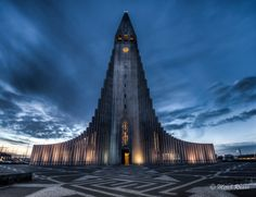 Hallgrímskirkja The unique church is situated in the middle of Reykjavík. It is the tallest and most recognizable building in the country. The architecture was inspired by the Black Falls – another Icelandic natural wonder.