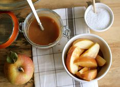 Jenny Steffens Hobick: Salted Caramel Sauce | Caramel Apples with Simple Homemade Salted Caramel Sauce | Easy!