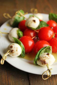 Bistro Baby Greens & Grilled Skewered Salad